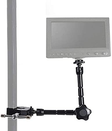OUYAWEI 11 Inch Magic Arm LR Rig LCD Monitor Large Crab clamp 7 Inch Strange Hand//Large Crab Clamp//Small Crab Clamp for LED Light DS