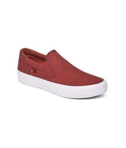 DC Trase Slip-On TX SE Unisex Schuh Verbranntes Henna / Weiß