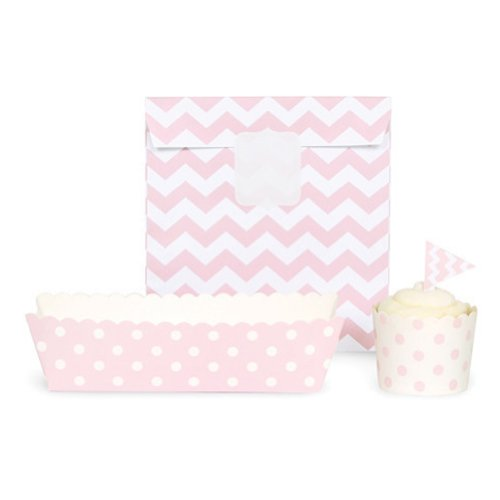 paper eskimo baking cups chevron - 5