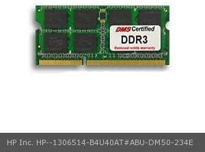 Certified for HP RAM 8GB DDR3 1600MHz PC3-12800 204-Pin SODIMM Memory B4U40AT