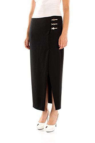 G33904G600556G1008 Versace Collection Faldas Mujer Poliéster Negro Negro