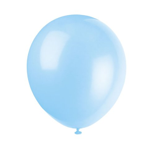 Baby Blue 12″ Latex Balloons 15ct., Health Care Stuffs