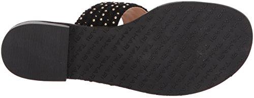 Tahari Women's Ta-Gabby Flat Sandal Black 3r8N9PSnu
