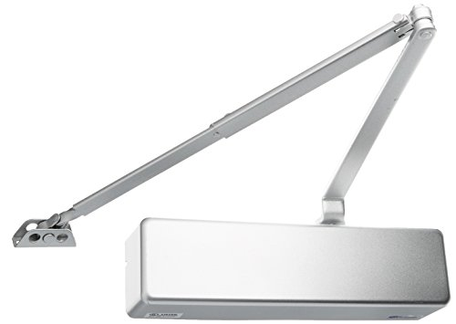 Cal Royal N900PBFDAALUM 900 Series Door Closer with Adjustable Size, Aluminum