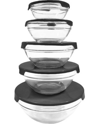 Small White Porcelain Serving Bowls 5-Ounce - Set of 6 (plus 6 spoons) - For Ceviche, Appetizers, Snacks, Tapas, Dips, Starters - ADRIANITA
