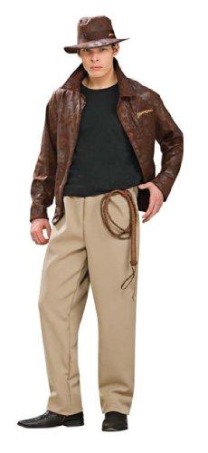 Indiana Jones Costume Makeup (Indiana Jones Deluxe Men's Costume (XL))