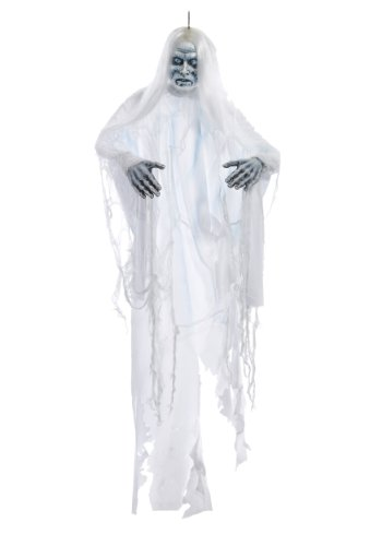 White (White Shadow Ghost Hanging Prop)