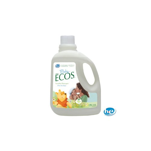 (Disney Baby Ecos Liquid Laundry Detergent - Free and Clear - 170 oz.)