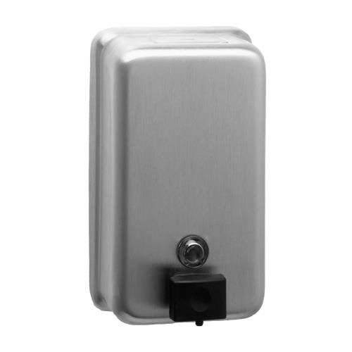 Bobrick 2111 Classicseries Surface Mounted Soap Dispenser  40Oz  Stainless Steel