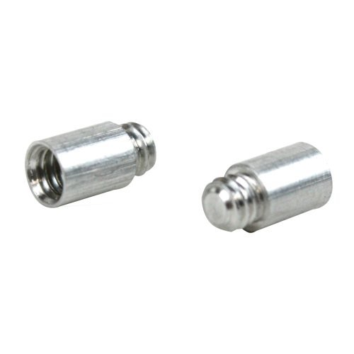 1/4'' Aluminum Screw Post Extensions - 100pk