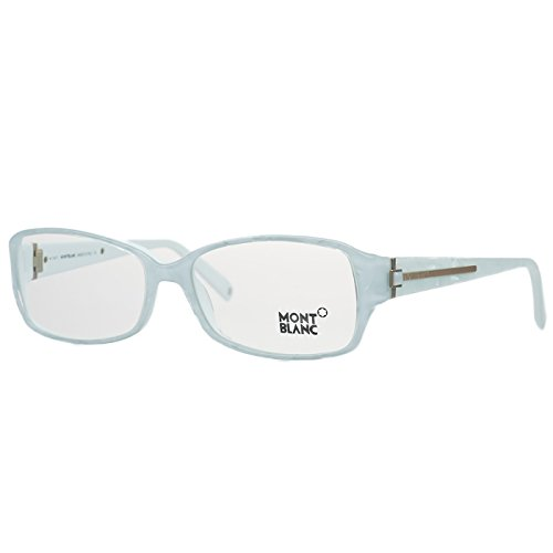 Price comparison product image MontBlanc Women's MB0394 Rimless Acetate Frames WHITE 56