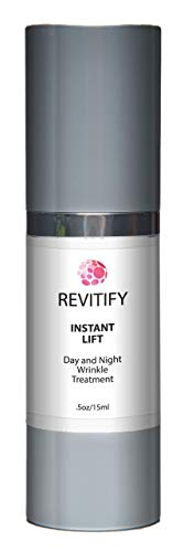 Revitify Instant Lift-Day and Night Wrinkle Treatment Serum- A Natural Luxurious Wrinkle Control Serum- Premium Anti-Aging Serum - Improved Formula