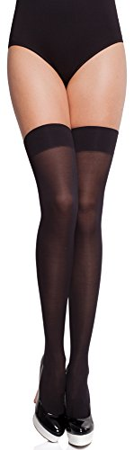 Merry Style Mujer Microfibra Hold Ups MS 151 60 DEN Negro