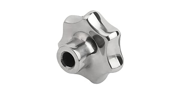 Kipp 06194-363CP2 Stainless Steel Reamed Blind Hole Star Grip Style C K0150.363CP2 63 mm Diameter KIPP Inc Polished Finish Inch