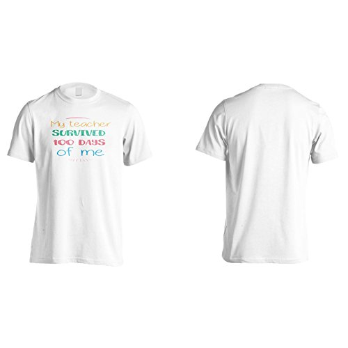 Mein Lehrer Überlebte 100 Tage Von Mir Herren T-Shirt n482m