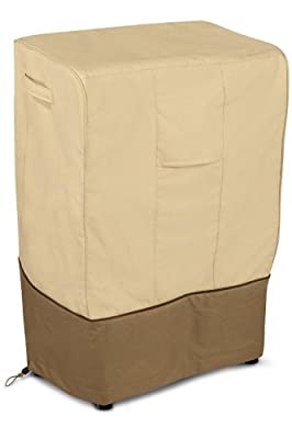 Classic Accessories Veranda Square Smoker Cover - Pebble