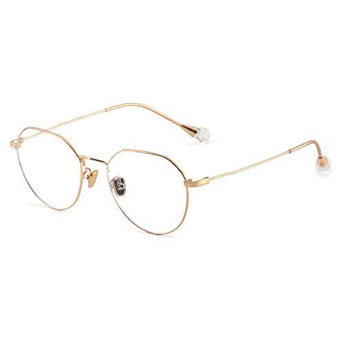 Blue Light Filter Computer Glasses for Blocking UV Headache [Anti Eye Eyestrain] Transparent Lens Gaming Glasses