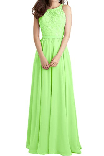 Festkleid Lang Promkleid Linie Damen Ivydressing Spitze Partykleid Abendkleid A Grün Beliebt amp;Chiffon 4xRZIU8n