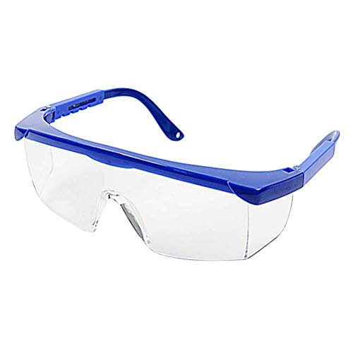 SUPVOX Safety Glasses Dust Wind Proof Eye Glasses UV Protection Safety Goggles Eyewear Blue