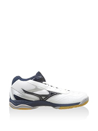 Mizuno Zapatillas Deportivas Wave Rally Mid Blanco EU 43 (UK 10)