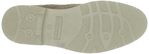 Base London - Zapatos de cordones de ante para hombre Beige (Beige (Suede Taupe))