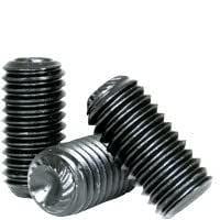 Coarse Thread Socket Set Screw Hex Socket Alloy Steel Black Oxide Length: 3//32 inch 4-40 x 3//32 Cup Point 4 Grub//Blind//Allen//Headless Screw Quantity: 100