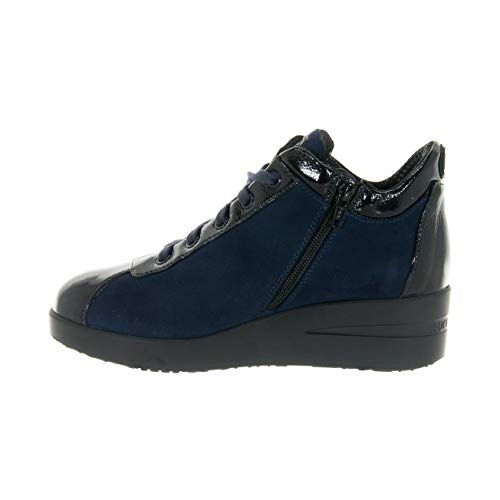 36 Top N° 1 226 Scarpe Suede Luxor Donna By Zeppa Agile Navy Rucoline xwCXZ7q66