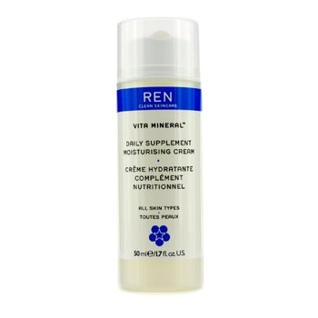 (Ren Vita Mineral Daily Supplement Moisturising Cream (For All Skin Types) 50Ml/1.7Oz)