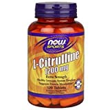 L-Citrulline, 1200 mg, 120 Tabs by Now Foods (Pack of 3)