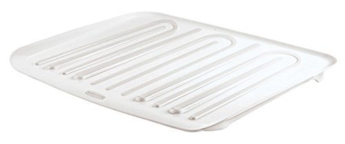 (Rubbermaid Antimicrobial Drain Board Large, White)