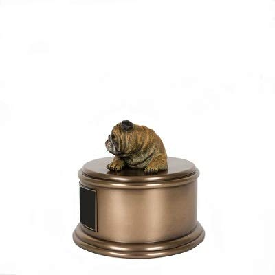 Perfect Memorials Custom Engraved English Bulldog Figurine Cremation Urn by Perfect Memorials (Image #4)