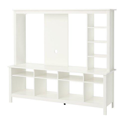 IKEA TV unidad de almacenamiento, blanco 628.22017.342: Amazon.es ...