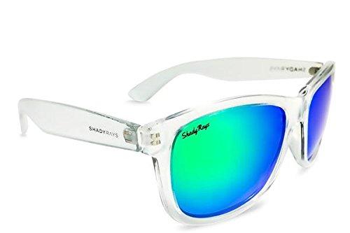 Shady Rays Signature Series Polarized Sunglasses Emerald, - Brand Ray