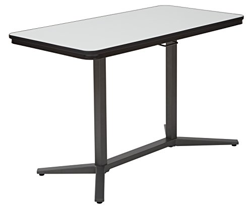 Pro-Line II PHT70527-osp Pneumatic Height Adjustable Table, White Titanium