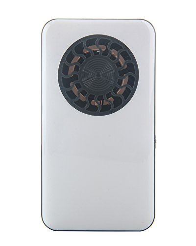 Battery Operated Personal Summer Pocket Fan With Rechargeable Lithium Battery (Hand Held Battery Fan compare prices)