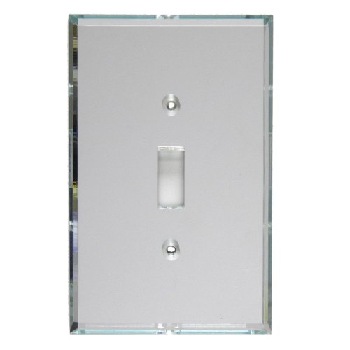 GlassAlike Single Switch Acrylic Mirror Switch Plate