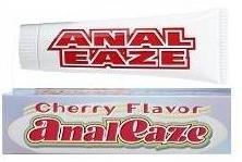Anal Flavor Eaze cerise désensibilisation engourdissant Gel Grand 1,5 oz Tube