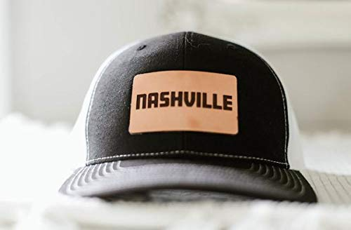 Stoked Hats - Handmade Unique Nashville Pride 2.0 Custom Patch Comfortable  Snapback Back Design Pre-Curved Visor Hats 7aeb8cde92e