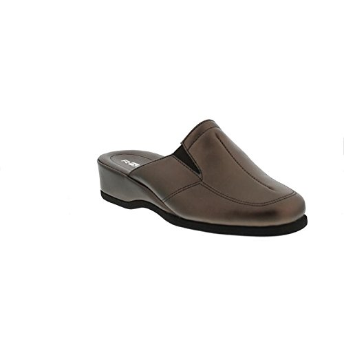 6142 77 femme Marron Chaussons Rohde n6AfCqOwq