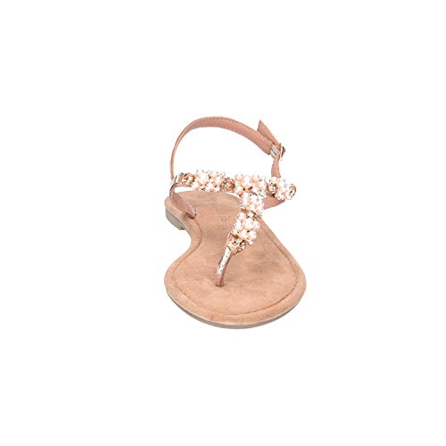 Metallic Tamaris 1 rose Multicolor Mujer Pulsera 28152 1 22 952 Sandalia Con Para PpqCRwP
