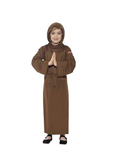 Large Brown Horrible Histories Children's Fancy Dress Monk Costume. -