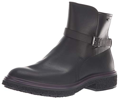 ECCO Women's Women's CrepeTray Gore-TEX Ankle Boot, Black, 41 M EU (10-10.5 US) (Gore Tex Leather Black Boots)