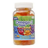 Yum-V's Omega-3 DHA Gummies, 90 EA (Omega Yums compare prices)