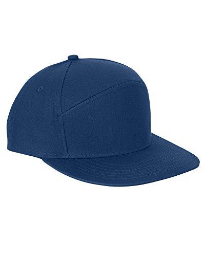 Big Accessories Hybrid Hat, Navy, One Size ()
