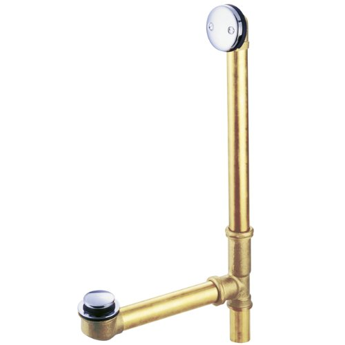 Kingston Brass DTT2181 Tip-Toe Bath Tub Drain and Overflow, Polished ()