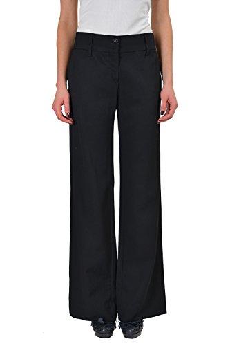 - Dolce & Gabbana Women's Black 100% Virgin Wool Dress Pants US 6 IT 42