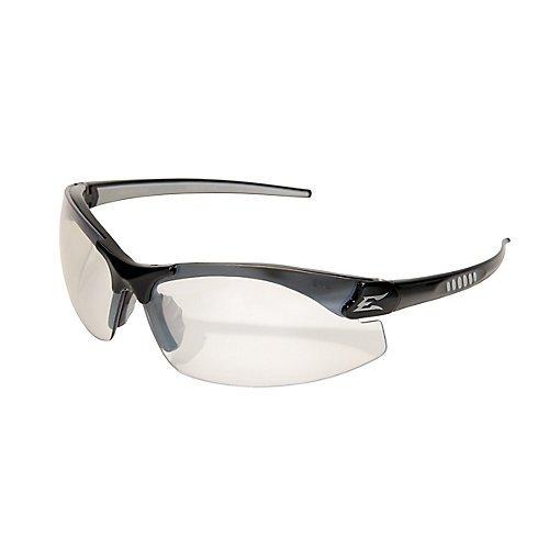 Edge Eyewear DZ111AR-G2 Safety Glasses, Black with Anti-Reflective (Reflective Edge)