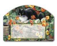 Mailwraps Cat - Mailwraps Whiskers Cat Magnetic Face