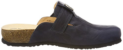 Think! Women's Julia_383349 Clogs Blue (Navy/Kombi 84) 0LPDRqT1oq