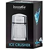 Innovee Manual Ice Crusher With Rust-Proof Zinc Alloy Construction – Carbon Steel 430